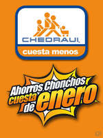 Ofertas de Chedraui, Ahorros Chonchos - 17 enero