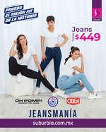 Ofertas de Suburbia, Jeans desde $499