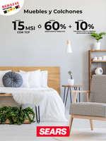 Ofertas de Sears, Muebles y Colchones