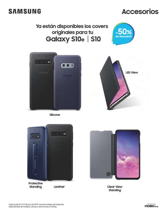 Ofertas de Mobo, 50% de descuento en accesorios Samsung de venta en MOBO
