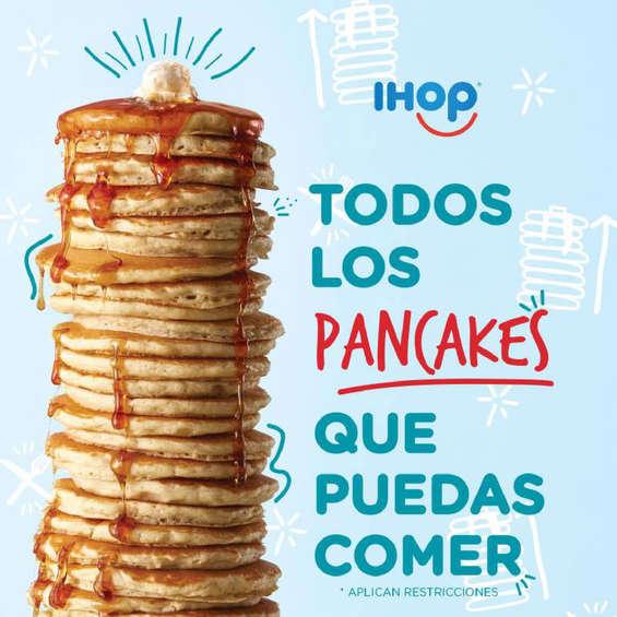 Ofertas de Ihop, Todos los pancakes que puedas comer