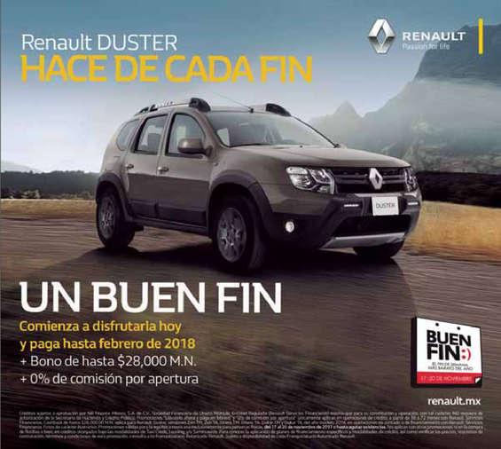 Ofertas de Renault, Renault Duster hace de cada fin un Buen Fin