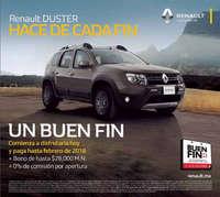Renault Duster hace de cada fin un Buen Fin