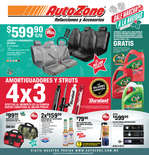 Ofertas de AutoZone, Folleto NOV - DIC