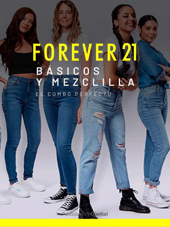 Ofertas de Forever 21, Básicos y mezclilla