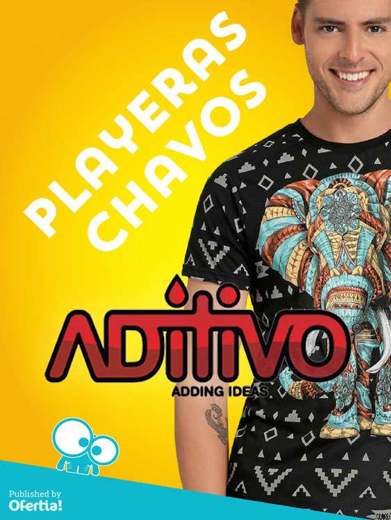Ofertas de Aditivo, Playeras Chavos