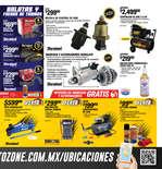 Ofertas de AutoZone, Promociones Buen Fin