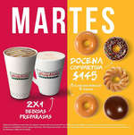 Ofertas de Krispy Kreme, Promociones martes