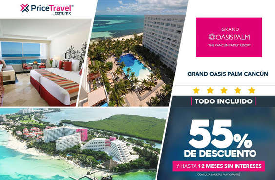 Ofertas de Price Travel, Grand Oasis Palm