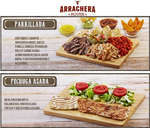 Ofertas de Arrachera House, Menú
