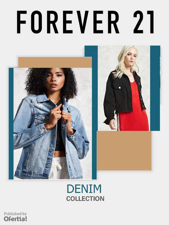 Ofertas de Forever 21, Denim Collection