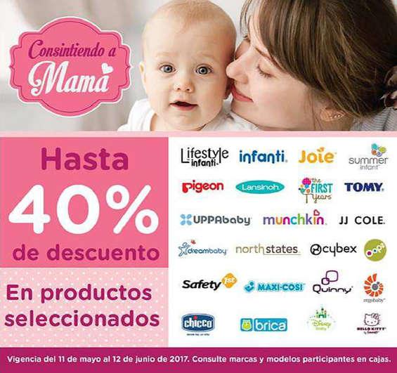 Ofertas de Baby Outlet, Consitiendo a mamá