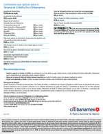 Ofertas de Citibanamex, tarjeta de crédito oro
