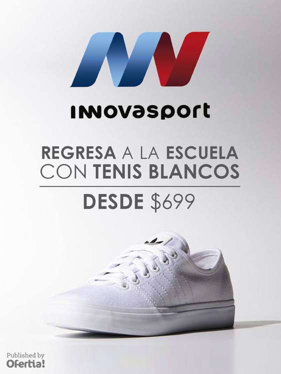 Ofertas de Innovasport, Tenis Blancos
