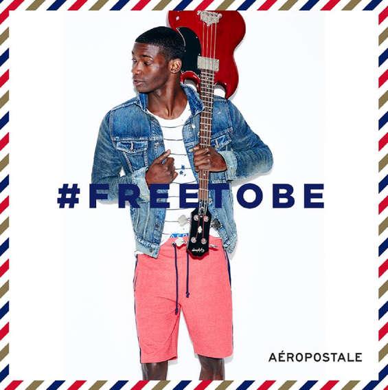 Ofertas de Aeropostale, Free to Be