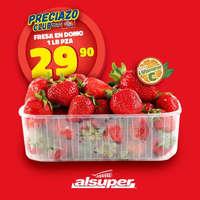 Promoción Fresas