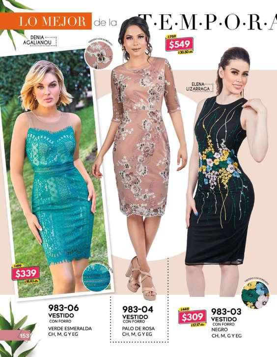54894b20416f Vestidos de fiesta mujer en Martínez de la Torre - Catálogos ...